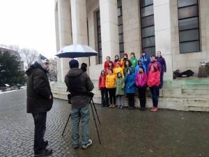2014-02-01 Le zbor - snimanje spota Katjusha 92