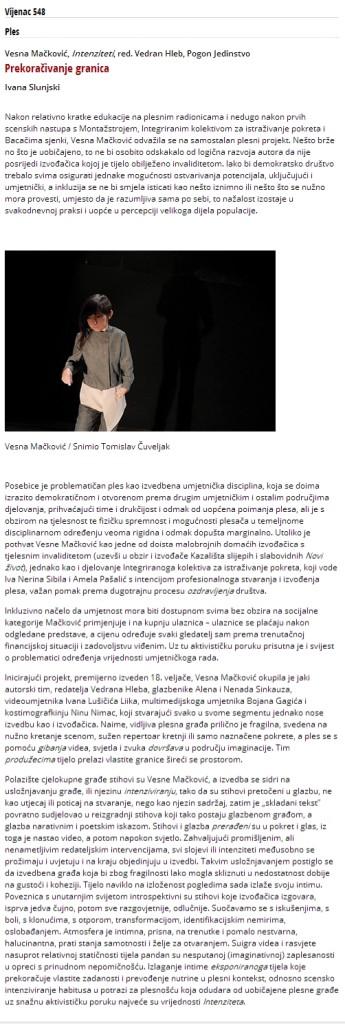 2015-03-05 Matica hrvatska - Vijenac 548 - Ivana Slunjski - Prekoračivanje granica